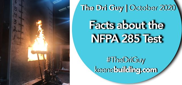 Facts about the NFPA 285 Test