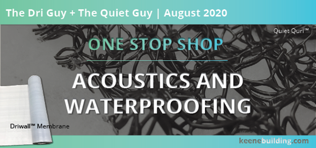 One-Stop-Shop | Acoustics & Waterproofing