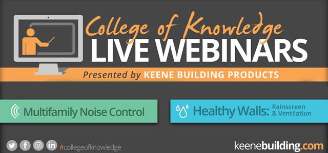 "Introducing our ""College of Knowledge"" AIA-Accredited Webinar Series!"