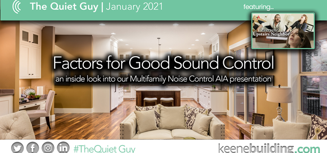 Factors for Good Sound Control