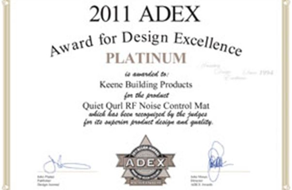 2011 ADEX for Design Excellence (Platinum)