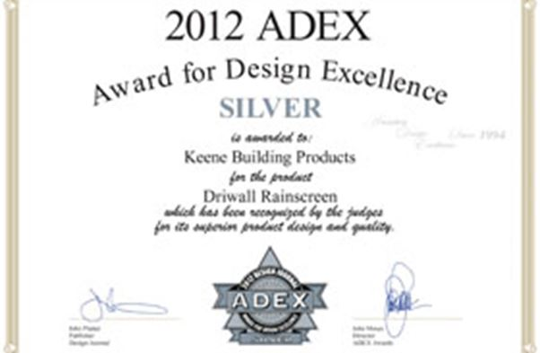 2012 ADEX for Design Excellence (Silver)