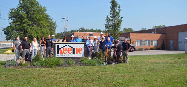 Announcing Facility Expansion for Keene Building Products'